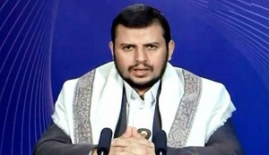 الحوثي يتهم الاحمر وحزب الاصلاح بتوريط الجيش+فيديو