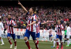 أتلتيكو مدريد يفوز على الريال في ديربي مدريد برباعية نظيفة