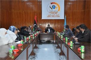 اجتماع بالمجلس البلدي نالوت لمناقشة أوضاع راديو نالوت إف إم
