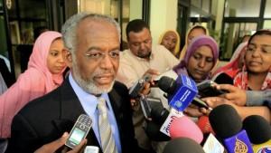 Sudan Foreign Minister Ali Ahmad Karti d