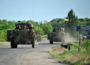 القوات الأوكرانية تشن هجوما قرب ماريوبول في شرق أوكرانيا
