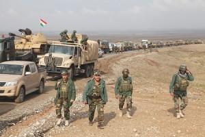 القوات الكردية تستعيد السيطرة على 128 قرية بريف عين العرب