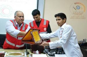 الهلال الاحمر الليبي فرع نالوت يكرم منتسبي ومتطوعي بالفرع الذين وافتهم المنية