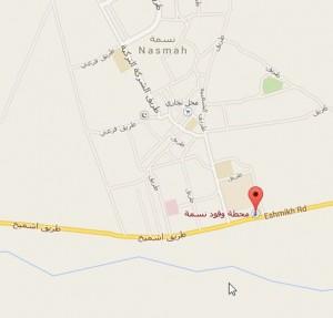 اندلاع حريق في محطة وقود بمنطقة نسمة دون خسائر بشرية