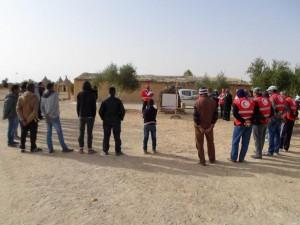 انطلاق فعاليات المخيم التدريبي التكويني لجمعية الهلال الاحمر فرع غدامس