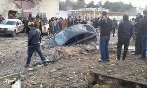 انفجارات تستهدف عدة مواقع حيوية بمدينة القبة