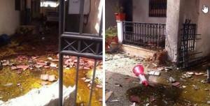 انفجار يستهدف منزل السفير الايراني في العاصمة طرابلس