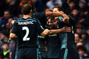 تشيلسي يعزز موقعه في صدارة الدوري الإنجليزي الممتاز بفوزه الثمين على أستون فيلا بهدفين مقابل هدف