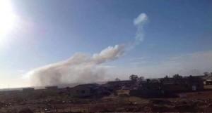 تعرض قاعدة القرضابية بسرت لقصف دون وقوع خسائر بشرية