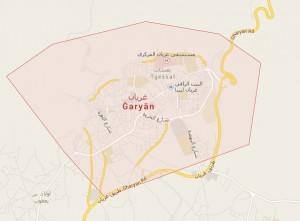 شطيبة تحليق لطائرة حربية فوق معسكر الدفاع الجوي بمنطقة أبوغيلان بمدينة غريان