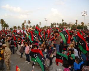 عدة مدن ليبية تشهد مظاهرات تحت شعار إعتداءت الجوار لن توقف تصحيح المسار