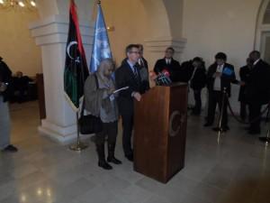 ليون جلسات الحوار الوطني بين الاطراف الليبية اليوم تميزت بروح ايجابية لدى المشاركين فيه