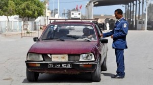 مركز حرس الحدود بمنطقة الذهيبة الحدودية مع ليبيا