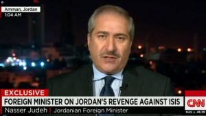 ناصر جودة الضربات الجوية ضد تنظيم الدولة الاسلامية بداية إنتقامنا