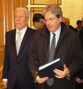 وزيرا خارجية تونس وايطاليا يوكدان أن حل الازمة في ليبيا لا يكون إلا سياسيا
