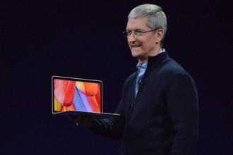 ابل تزيح الستار عن حاسب MacBook المحمول الجديد