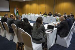 اختتام اليوم الثالث من المشاورات السياسية بين أطراف الأزمة الليبية بالمغرب