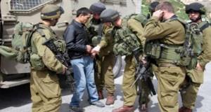 الاحتلال تعتقل عددا من الفلسطينيين فى الضفة الغربية