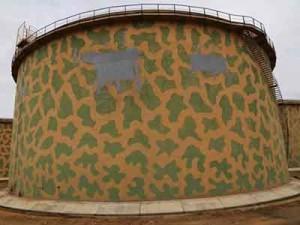 الانتهاء من صيانة الخزان (122) ديزل بمستودع طرابلس النفطي