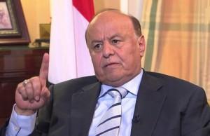 الرئيس اليمني هادي يعلن عدن عاصمة لليمن