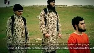 الفرنسية للانباء داعش يؤكد إعدامه عربيا إسرائيليا بتهمة التجسس لصالح الموساد