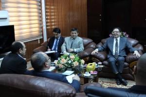 بلدي مصراتة يلتقي القنصل التركي بالمدينة
