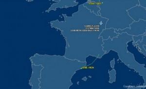 تحطم طائرة ركاب من طراز إيرباص 320 جنوب فرنسا