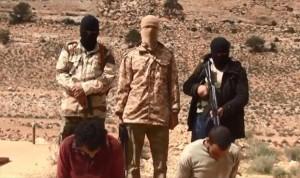 تنظيم الدولة الاسلامية يعدم عقيدا بالجيش وشرطيا في درنة