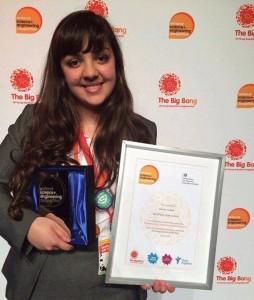 طالبة ليبية تتحصل على لقب أصغر عالمة في بريطانيا لعام 2015