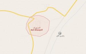 عميد بلدية الشويرف يتفقد الآبار الرعوية في وادي بي الكبير