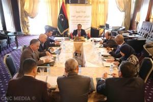 فريق الحوار المفوض من المؤتمر الوطني العام يعقد اجتماع تحضيري