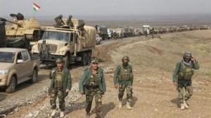 قوات كردية تطرد عناصر تنظيم داعش من كامل ريف كوباني الغربي شمال سوريا