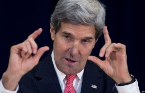 كيري  أعضاء الكونغرس لا يستطيعون تعديل أي اتفاق بين الولايات المتحدة وإيران