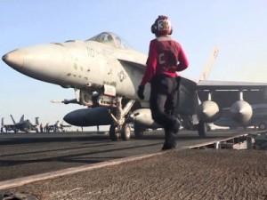 12 غارة للتحالف على تنظيم الدولة الاسلامية في العراق وسوريا