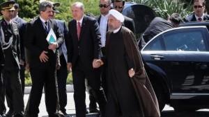 أردوغان يصل طهران في  زيارة رسمية