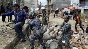 ارتفاع حصيلة ضحايا زلزال نيبال إلى 3218 قتيلا وأكثر من 6500 جريح1