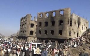 تحالف عاصفة الحزم يواصل قصف مواقع الحوثيين في صنعاء والحديدة