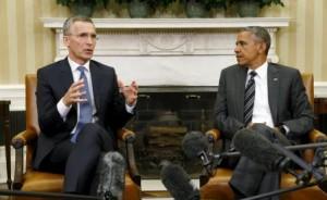 أوباما ينسق مع حلف الأطلسي بشأن المعركة ضد داعش وما يحدث في ليبيا