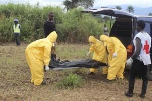 ارتفاع حالات الاصابه بفيروس الايبولا في غينيا وسيراليون
