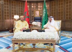 العاهل المغربي يبدأ زيارة رسمية للمملكة العربية السعودية