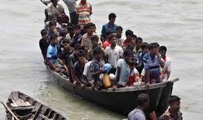 اندونيسيا تمنع قارب مهاجرين من دخول مياهها الاقليمية