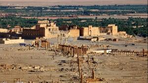 تنظيم الدولة الاسلامية يسيطر على مدينة تدمر السورية التاريخية