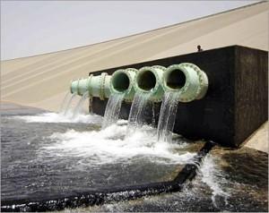 جهاز مياه النهر الصناعي بالمنطقة الوسطي ينبه إلى حدوث انخفاض كبير في خزانات المياه بسرت