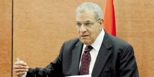 رئيس الوزراء المصري يقبل استقالة وزير العدل بحكومته