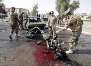 قتلى وجرحى بتفجيرين انتحاريين استهدفا القوات الأمنية وسط وشمالي الرمادي بالعراق
