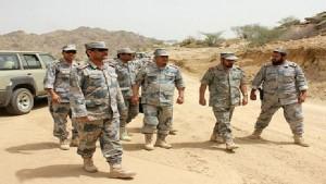 وزارة الداخلية السعودية  مقتل اثنين من حرس الحدود السعودي في قصف من اليمن