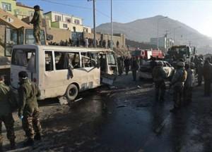 وزارة الداخلية  مقتل وإصابة 16 شخصا في تفجير انتحاري بالعاصمة الأفغانية