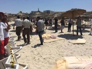 الداخلية التونسية ارتفاع ضحايا الهجوم على فندق سوسة بتونس إلى 27 قتيلا