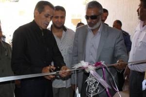 افتتاح المقر الجديد لفرع الحرس البلدي شحات
