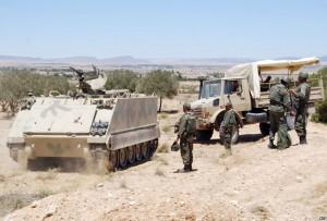 الجيش التونسي  مقتل 5 إرهابيين في ولاية قفصة جنوب تونس